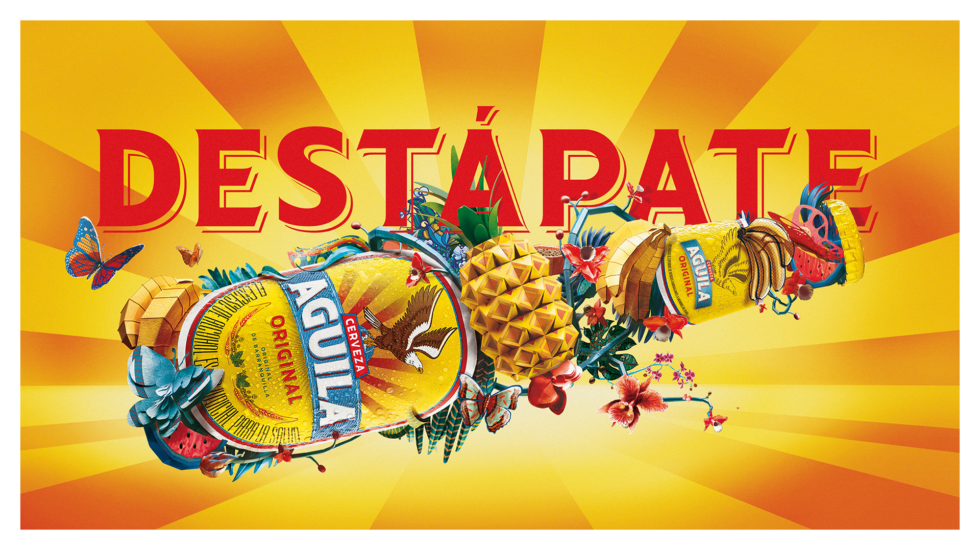 Advertising & Art Direction: Destápate Campaign