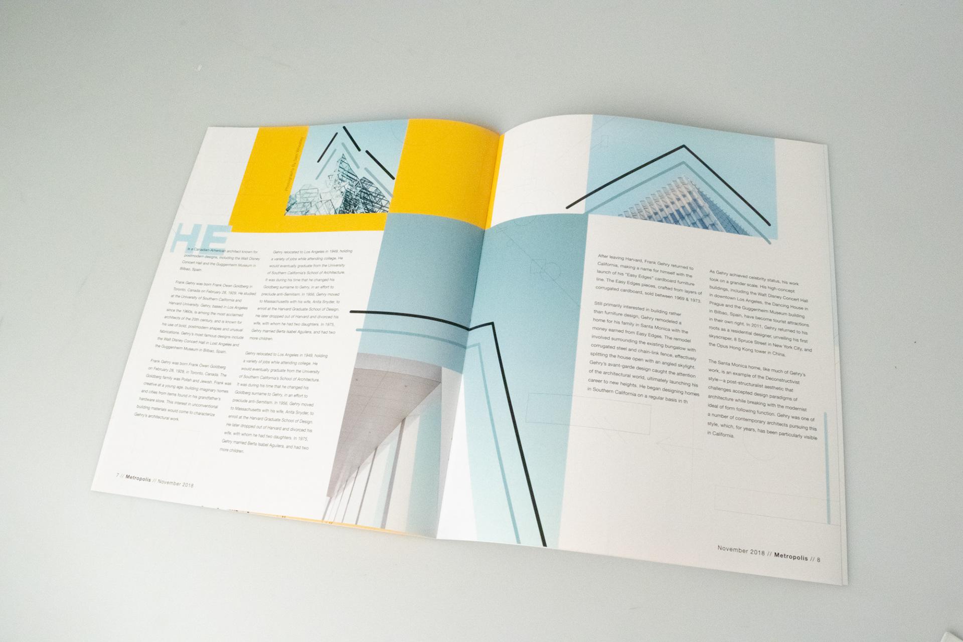 Redesigned Magazine - Metropolis on Behance