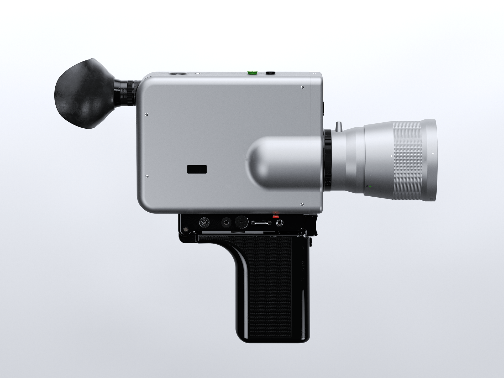 Nizo S 800 Braun Super 8 built-in 3D - Digital Art