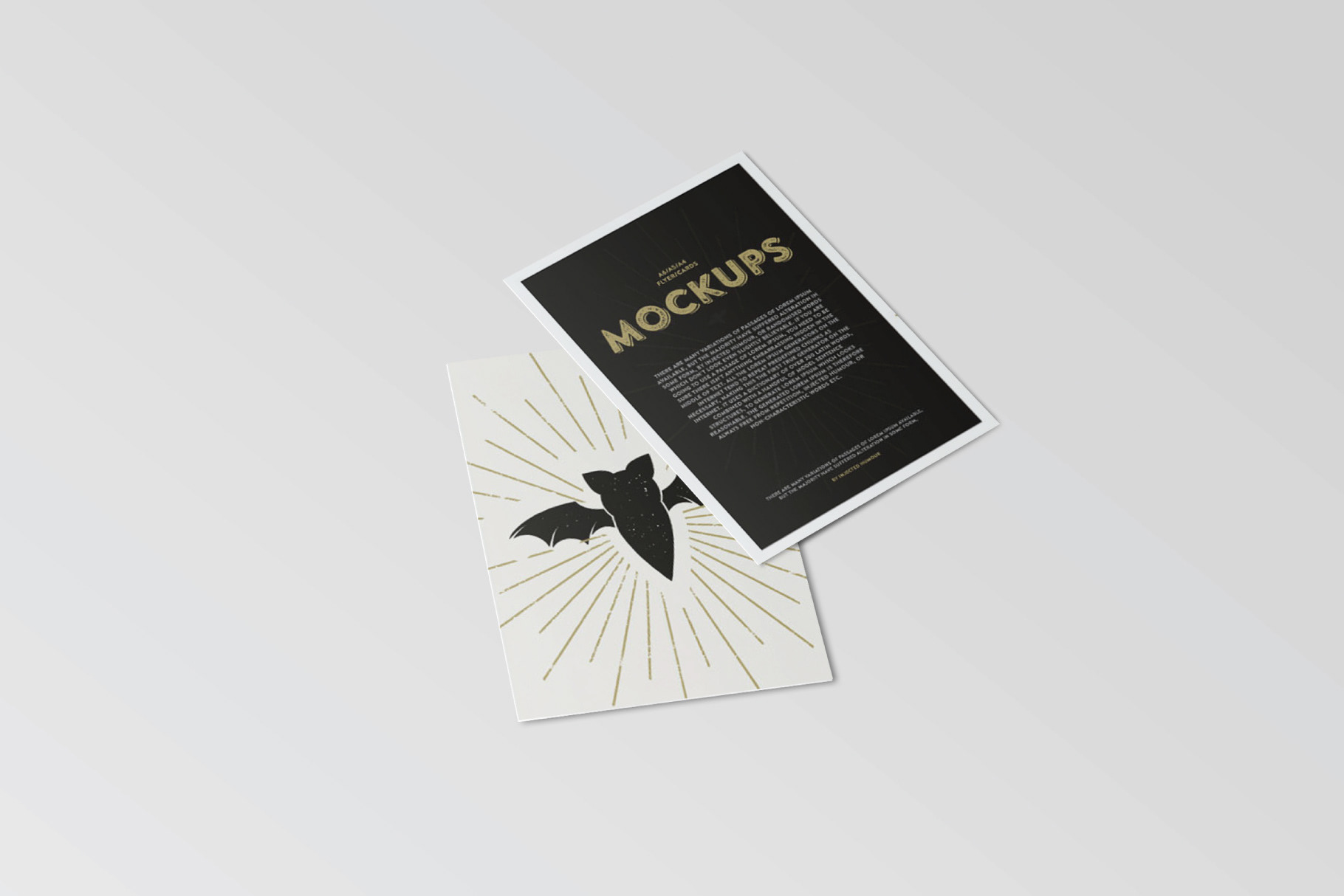 A6 Flyer Postcard Mockup Free Download On Behance