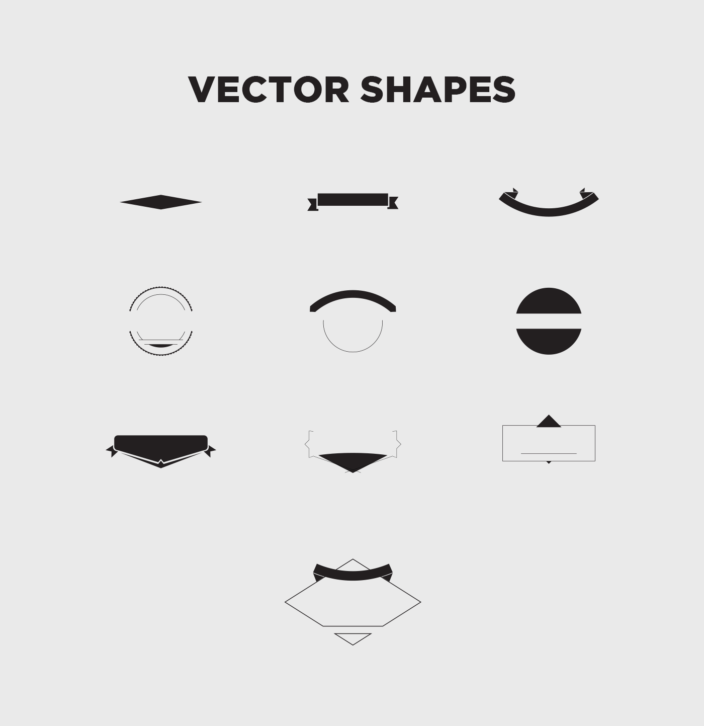 vintage vector logo design kit 15 free logo templates on behance