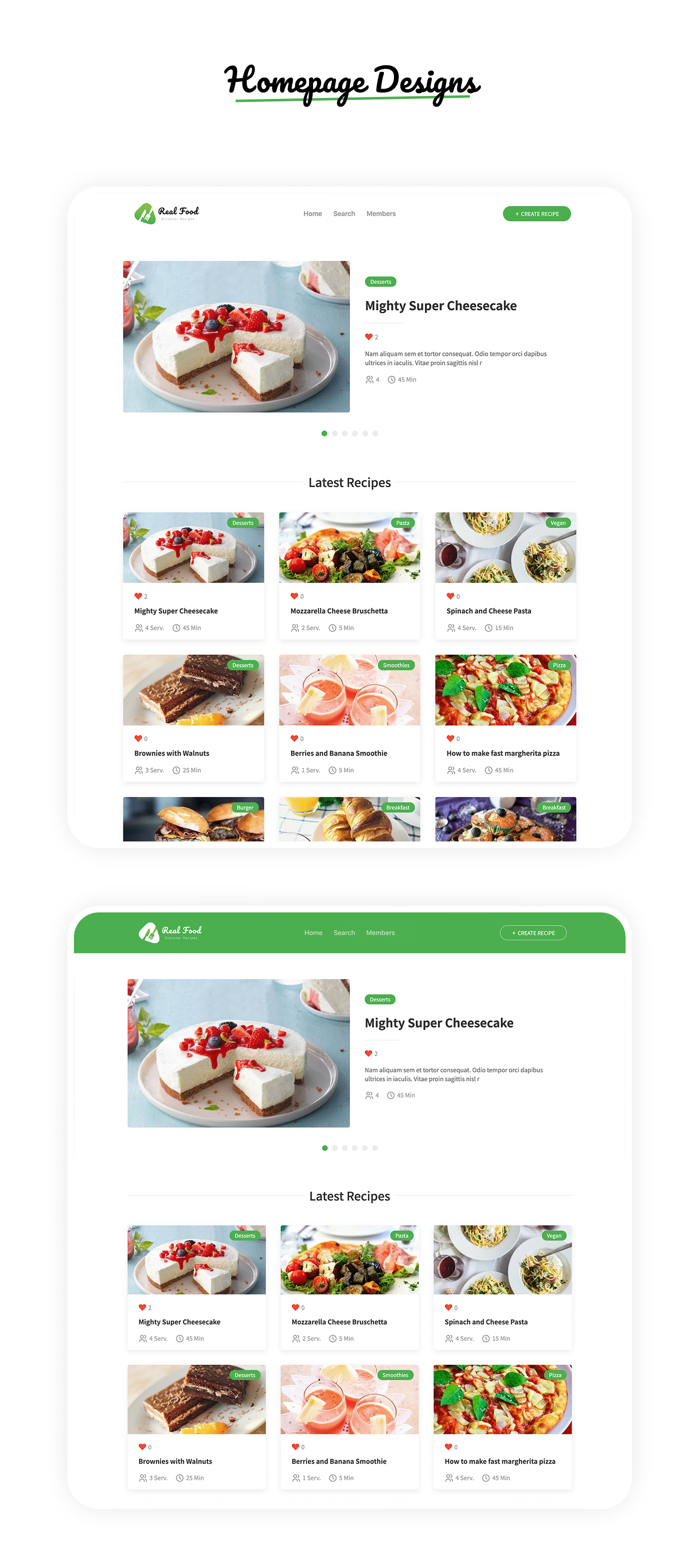 RealFood | The Ultimate PHP Recipes & Community Food - 2