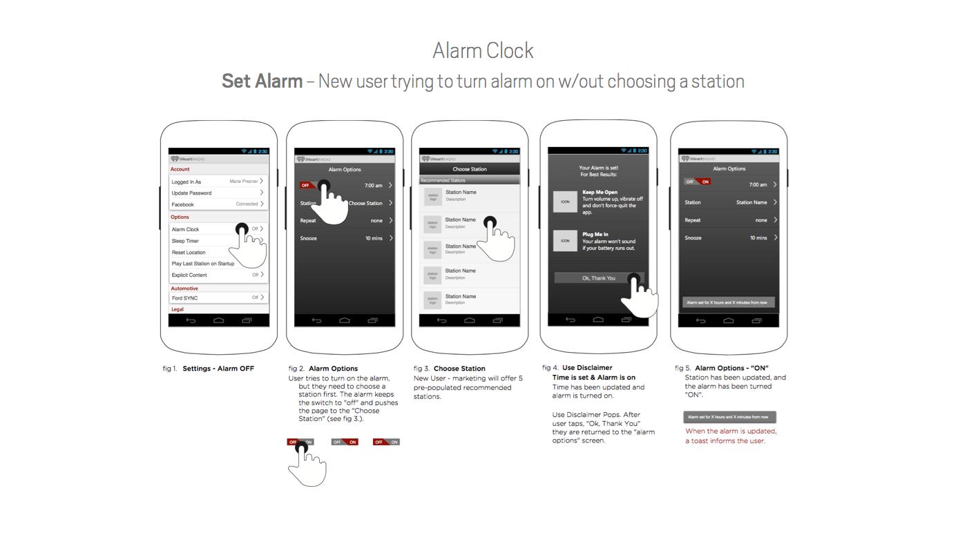 iHeartRadio - Alarm Clock & Sleep Timer on Behance