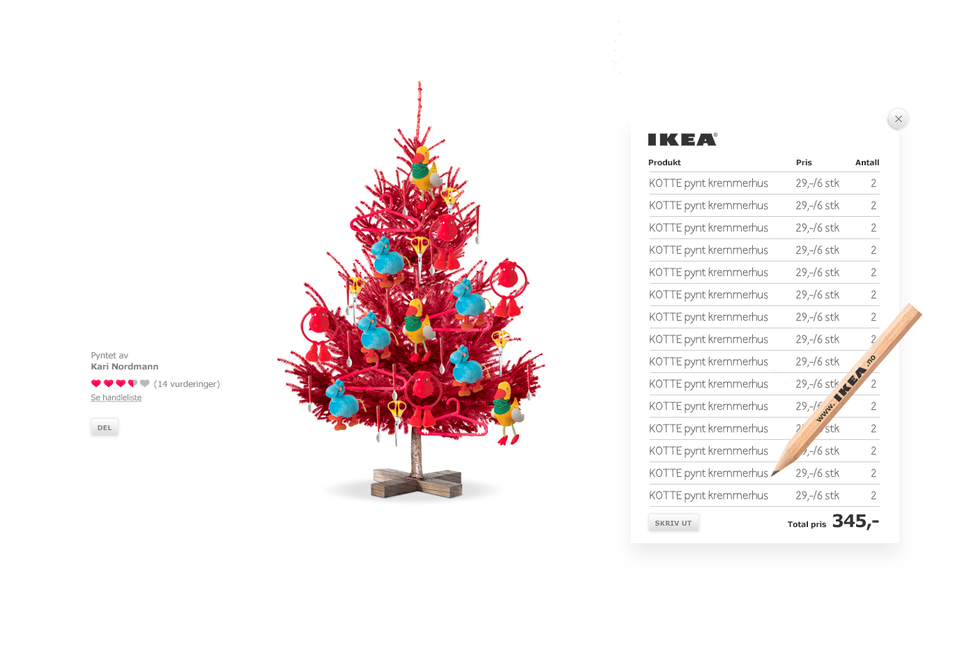 IKEA Christmas Campaign (2009) on Behance