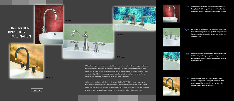 Help Me Rhonda Creative - Santec Product Brochure
