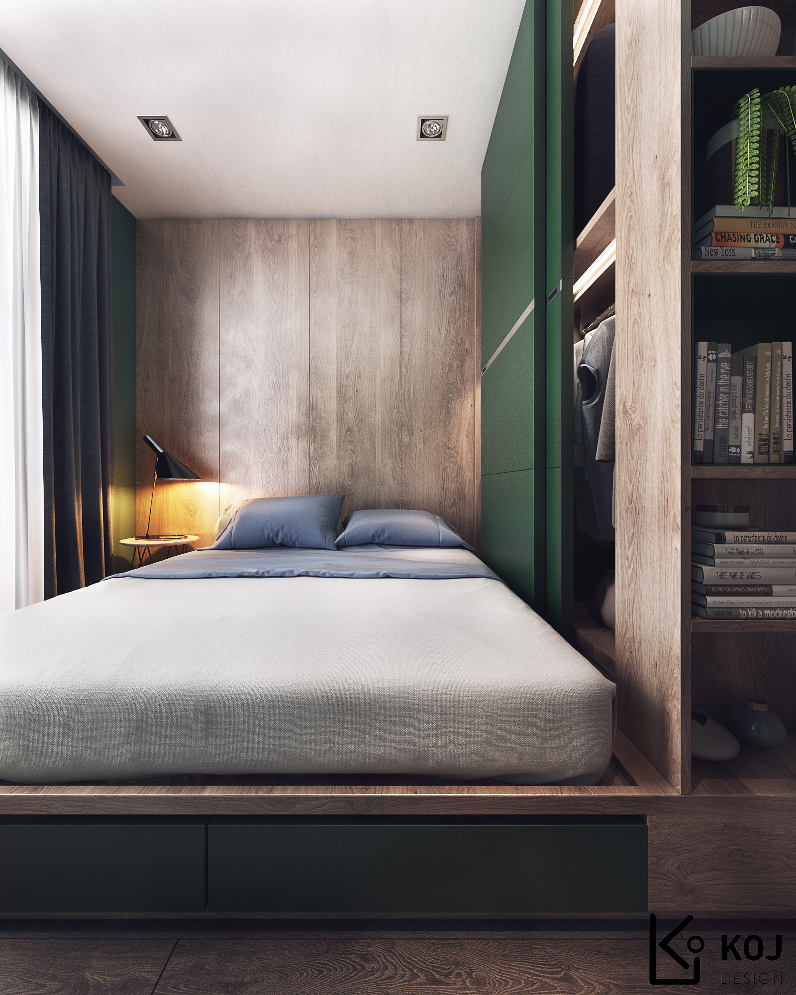 Tresor_Green Apartment!! On Behance