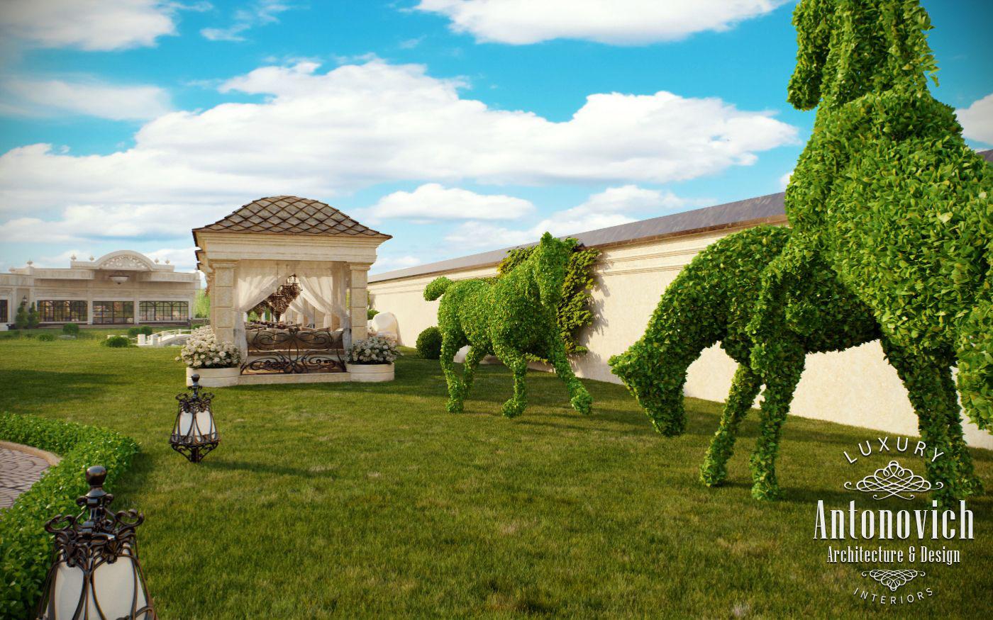 landscape design dubai from luxury antonovich design on behance