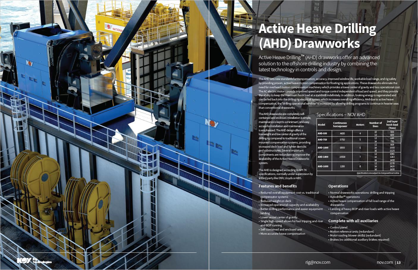 Drawworks Technology Brochure on Behance