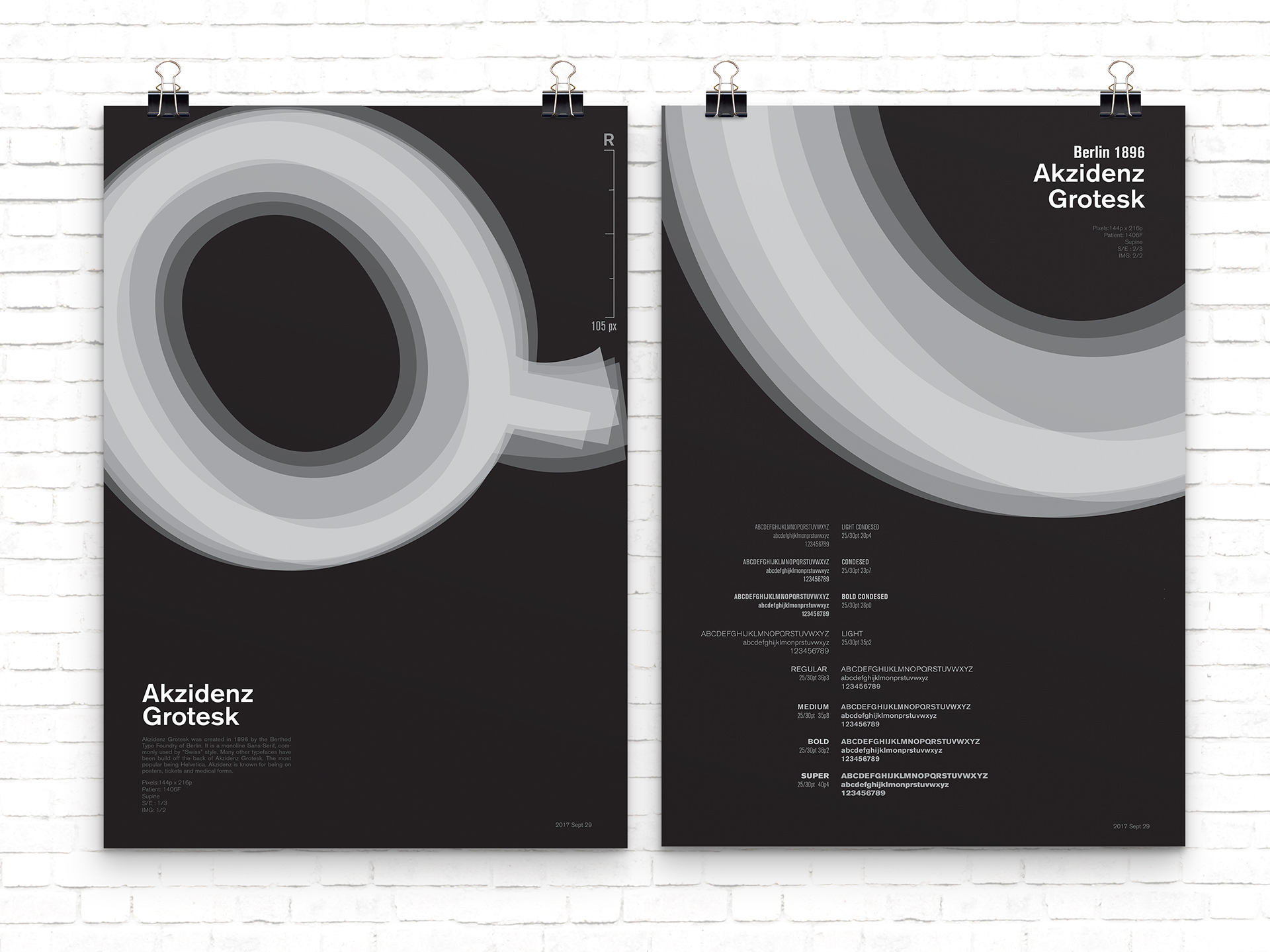 Typeface Poster on Behance