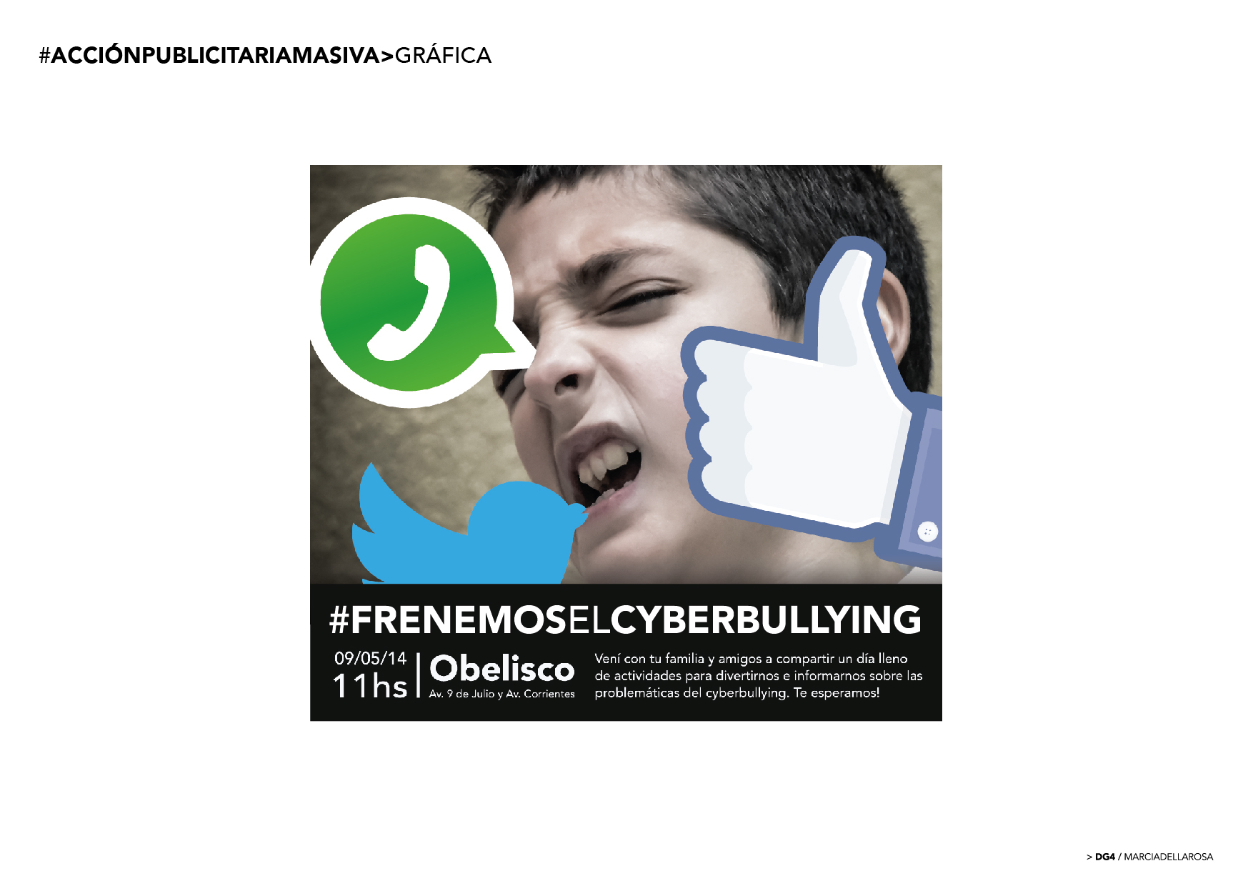 Campaign Cyberbullying On Behance