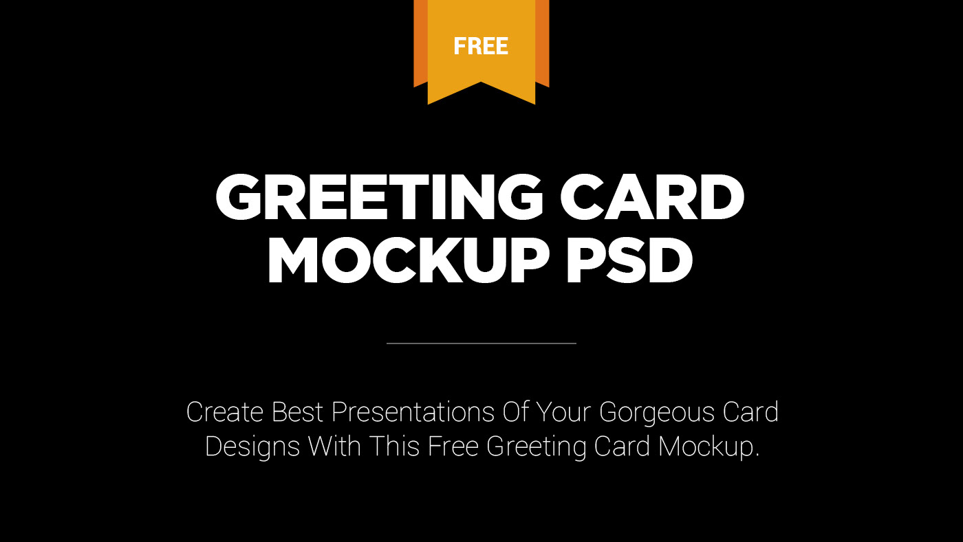 Free greeting card mockup psd on behance please click here to download this free greeting card mockup psd m4hsunfo