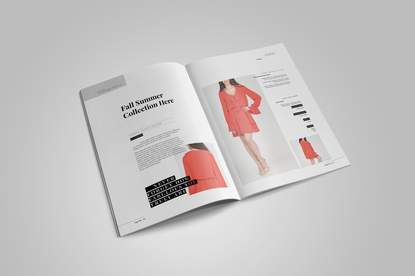 193 best Brochure Design Layout images on Pinterest Brochure Fashion catalog design ideas