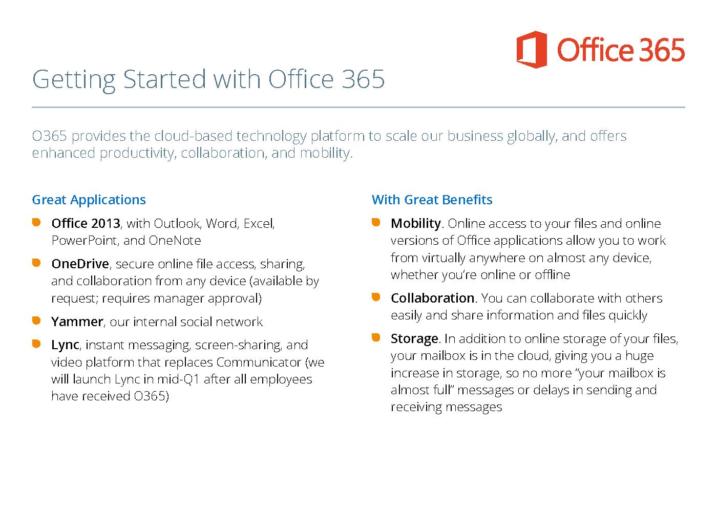 SunPower Office 365 global launch on Behance