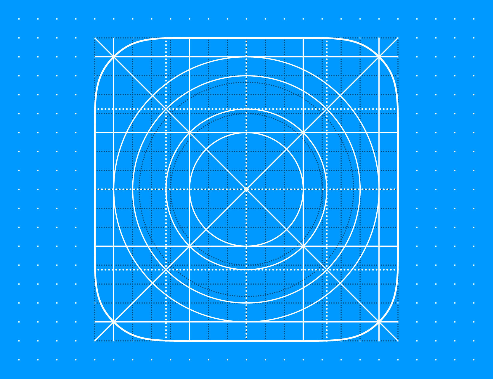 Free template ios 11 icon grid eps8 vector illustration on behance maxwellsz