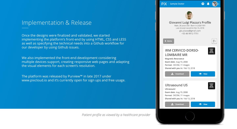 PiX Cloud - Patient Medical Records Sharing Platform on Behance