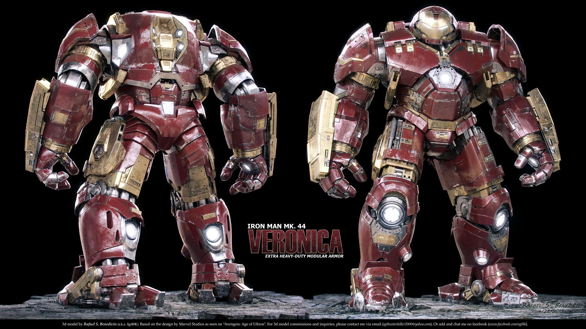 Iron Man Hulkbuster Armor on Behance