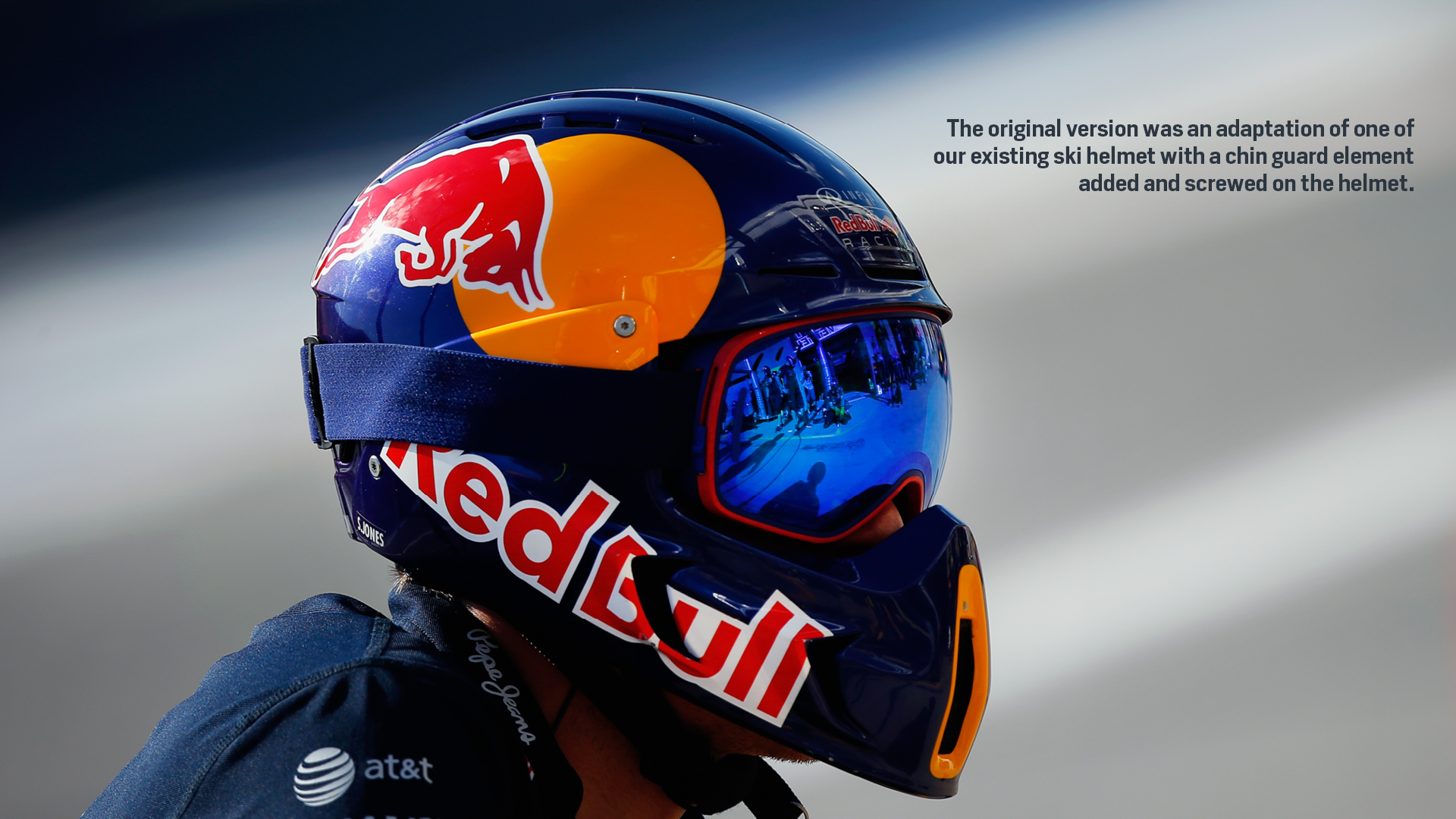 RED BULL Racing Formula One Team Pit Crew Helmet On Behance