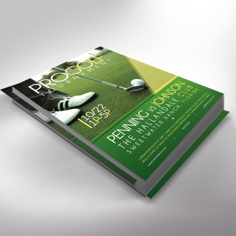 Golf Tournament Flyer Template Publisher from mir-s3-cdn-cf.behance.net
