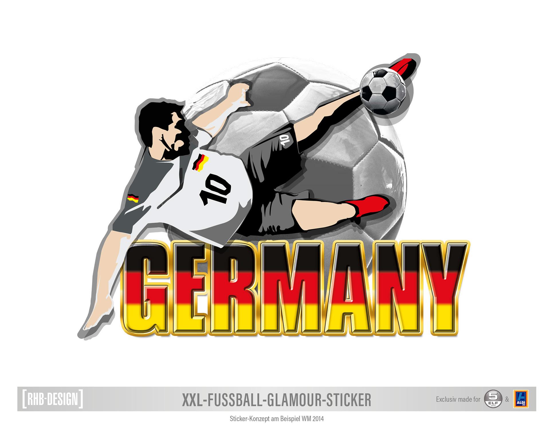 Xxl Fussball Sticker Soccer Sticker On Behance