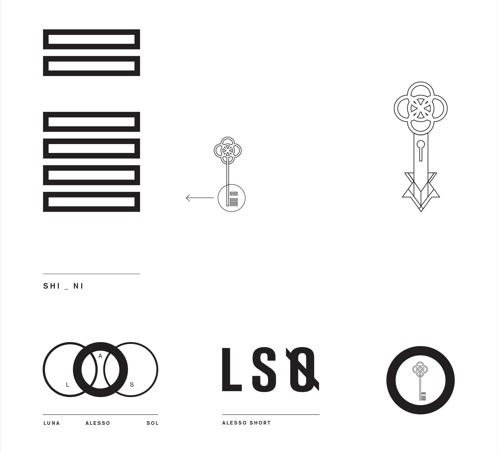 ALESSO Identity on Behance