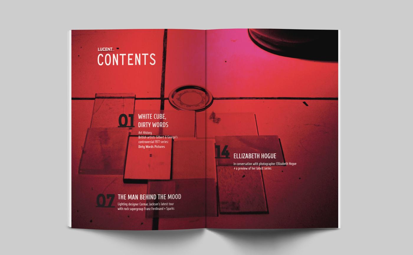 Lucent Magazine on Behance