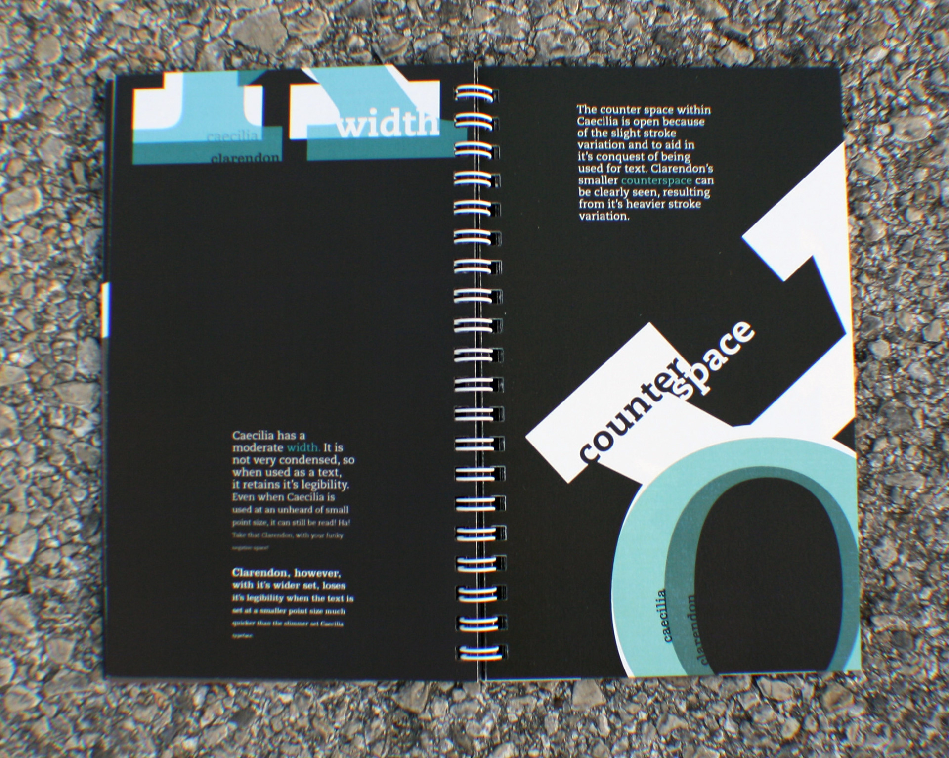 Book: Caecilia Typeface on Behance