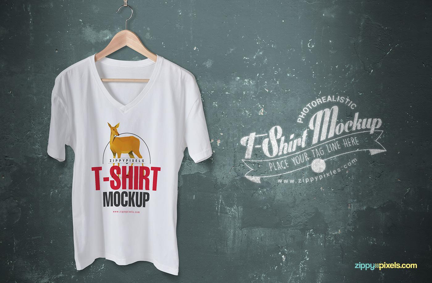 free tshirt mock up