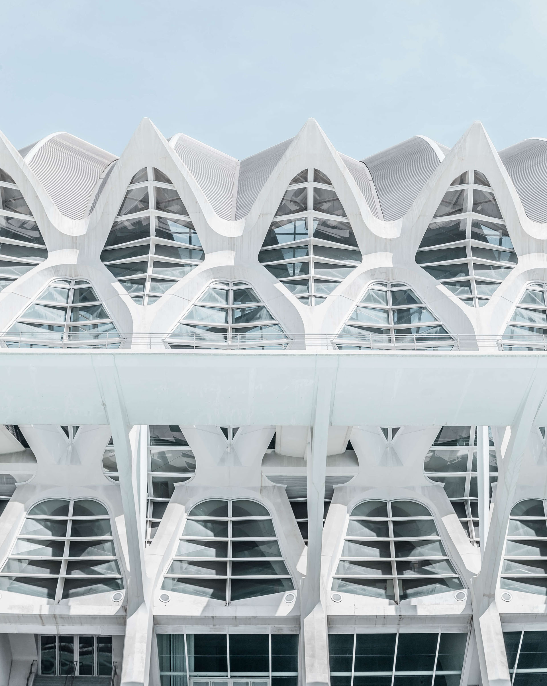 Photography Series: White Harmony in Valencia (City of Light)