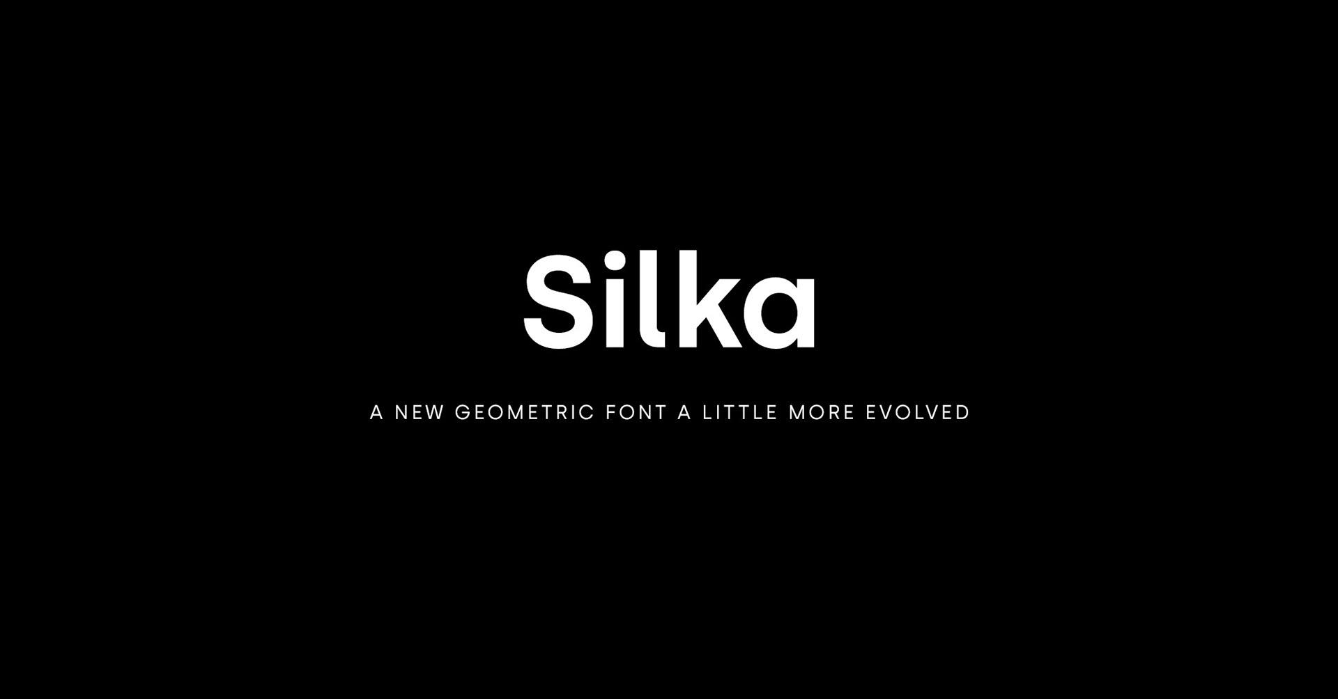 Silka font on Behance
