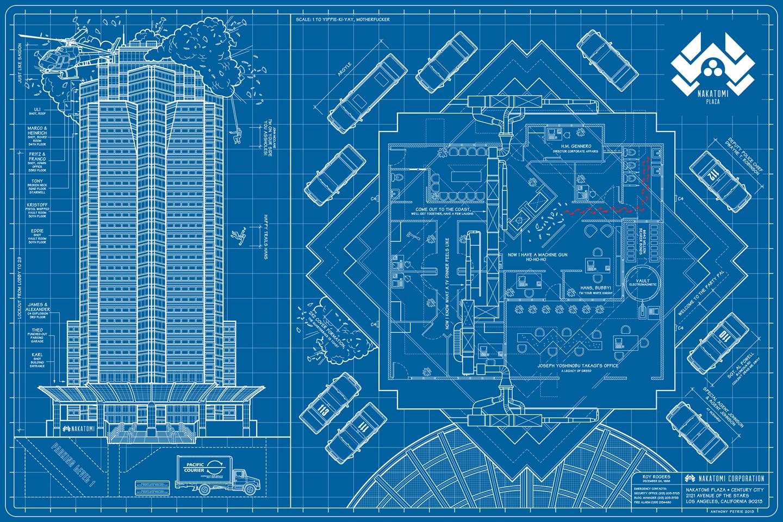 Casino blueprints poster horseshoe hotel & casino