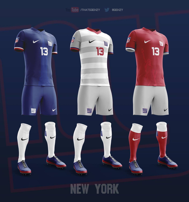 online store 14b46 575aa NFL Soccer Kits on Behance