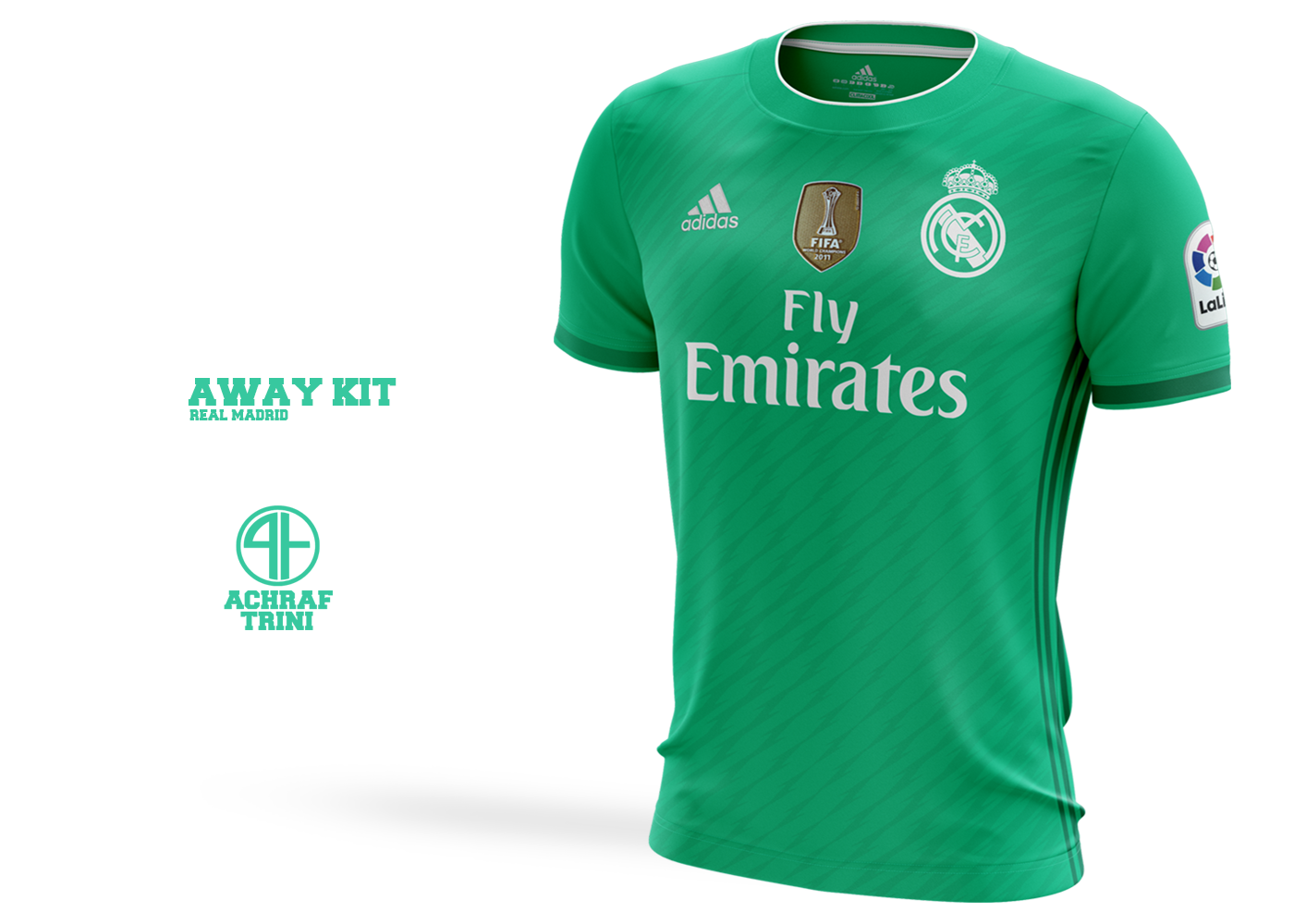 buy online a97bc 5847c Real madrid | Adidas Concept shirts 2018-19 on Behance