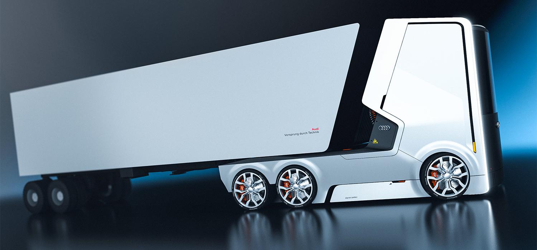 TRUCK FOR AUDI On Behance - Audi truck