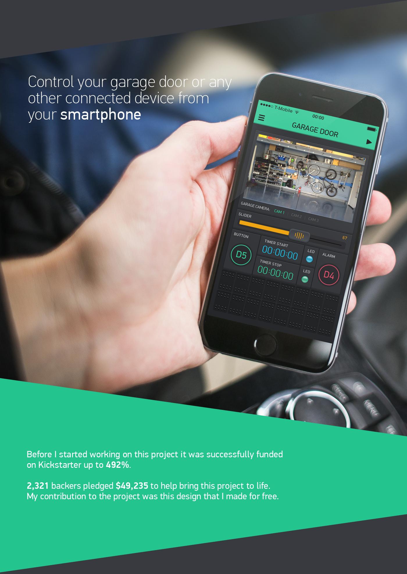 Blynk – Arduino Dashboard on Behance