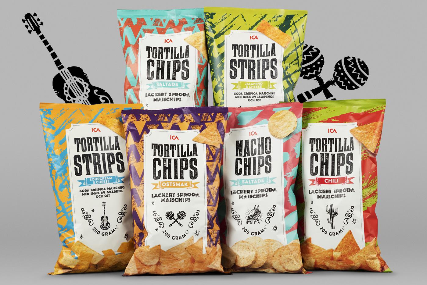 ica tortilla chips