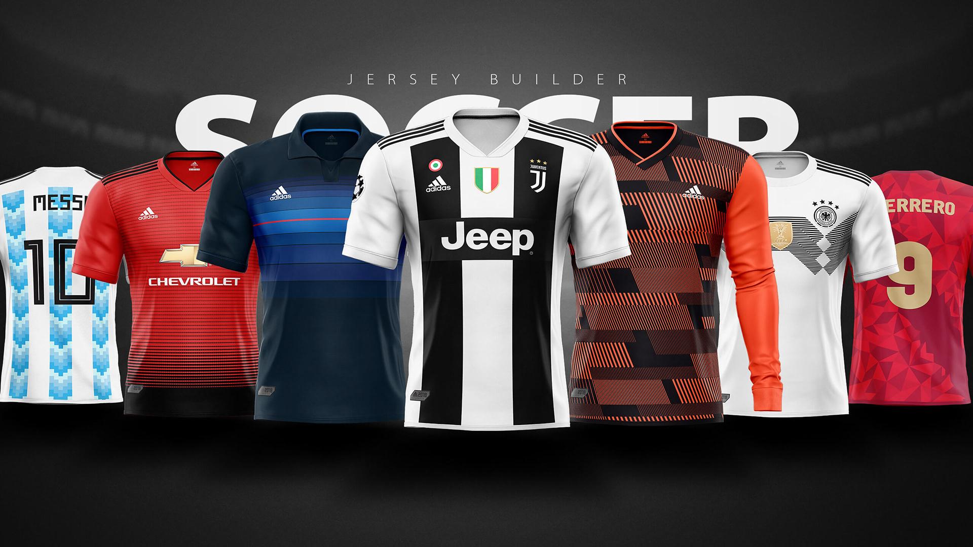 adidas jersey maker