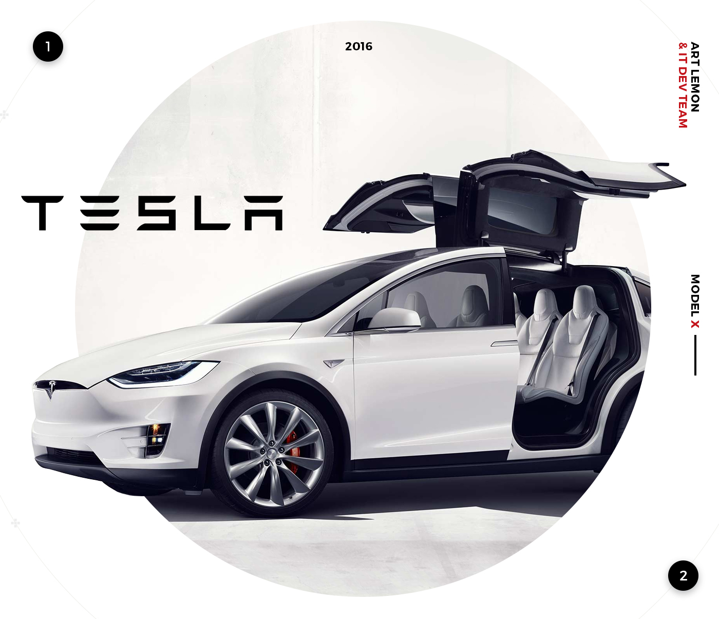 Tesla Model X On Behance # Tefla Muebles Sl