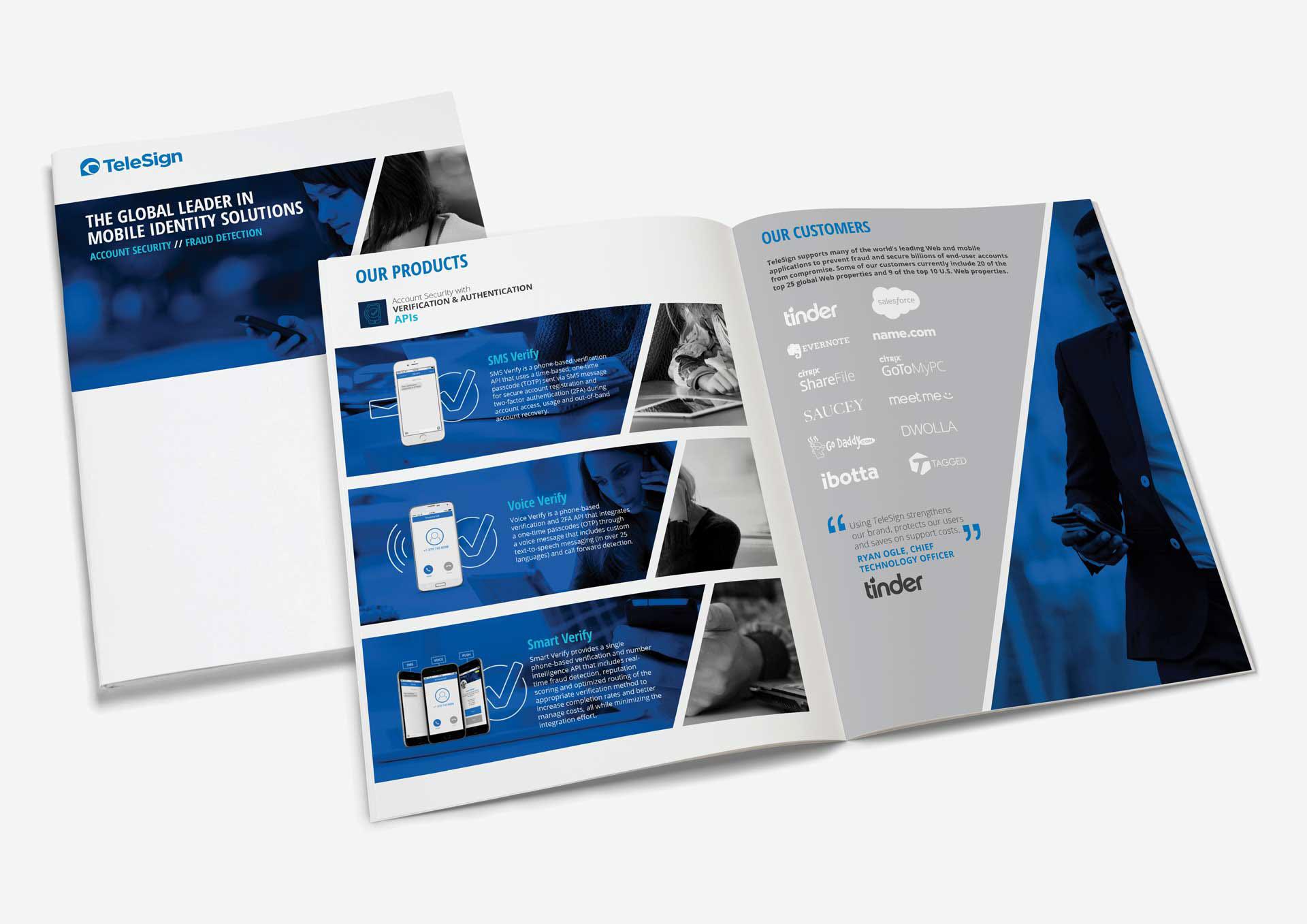 TeleSign Branding on Behance