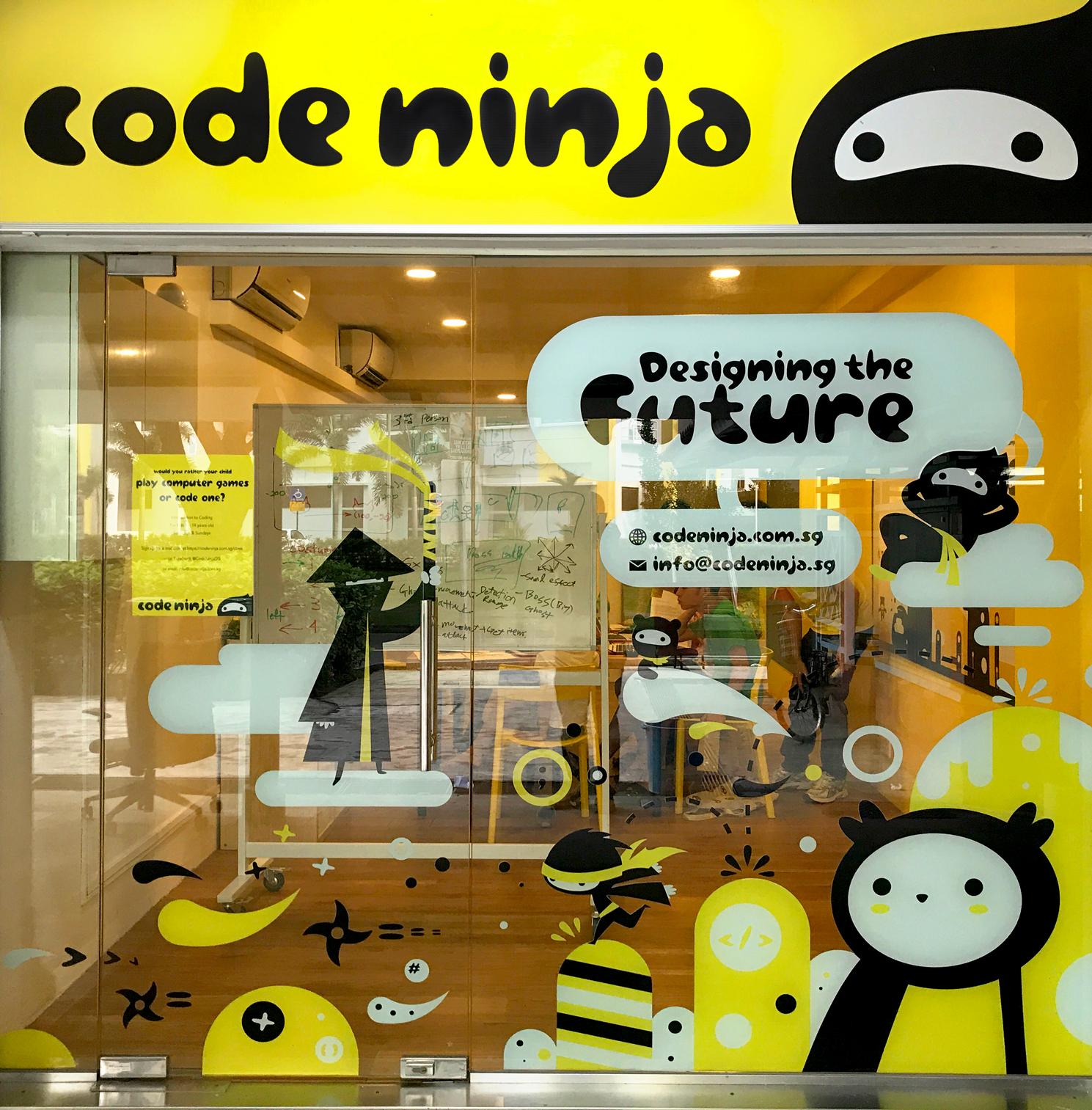 Code Ninja on Behance