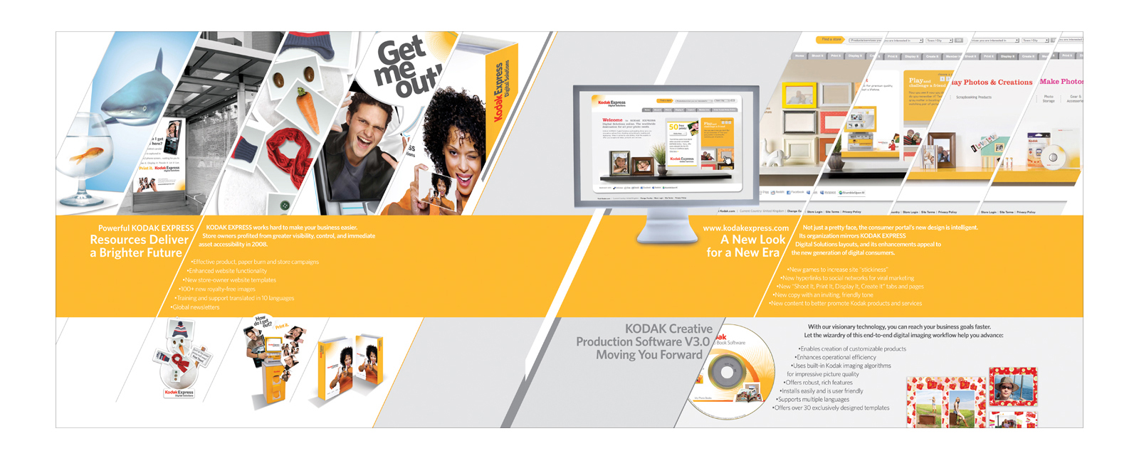 Kodak Express - B2B Brochure on Behance