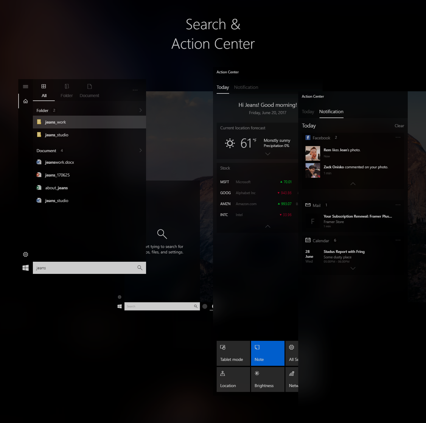 Windows Fluent Design Concept - Adobe XD Free Download on