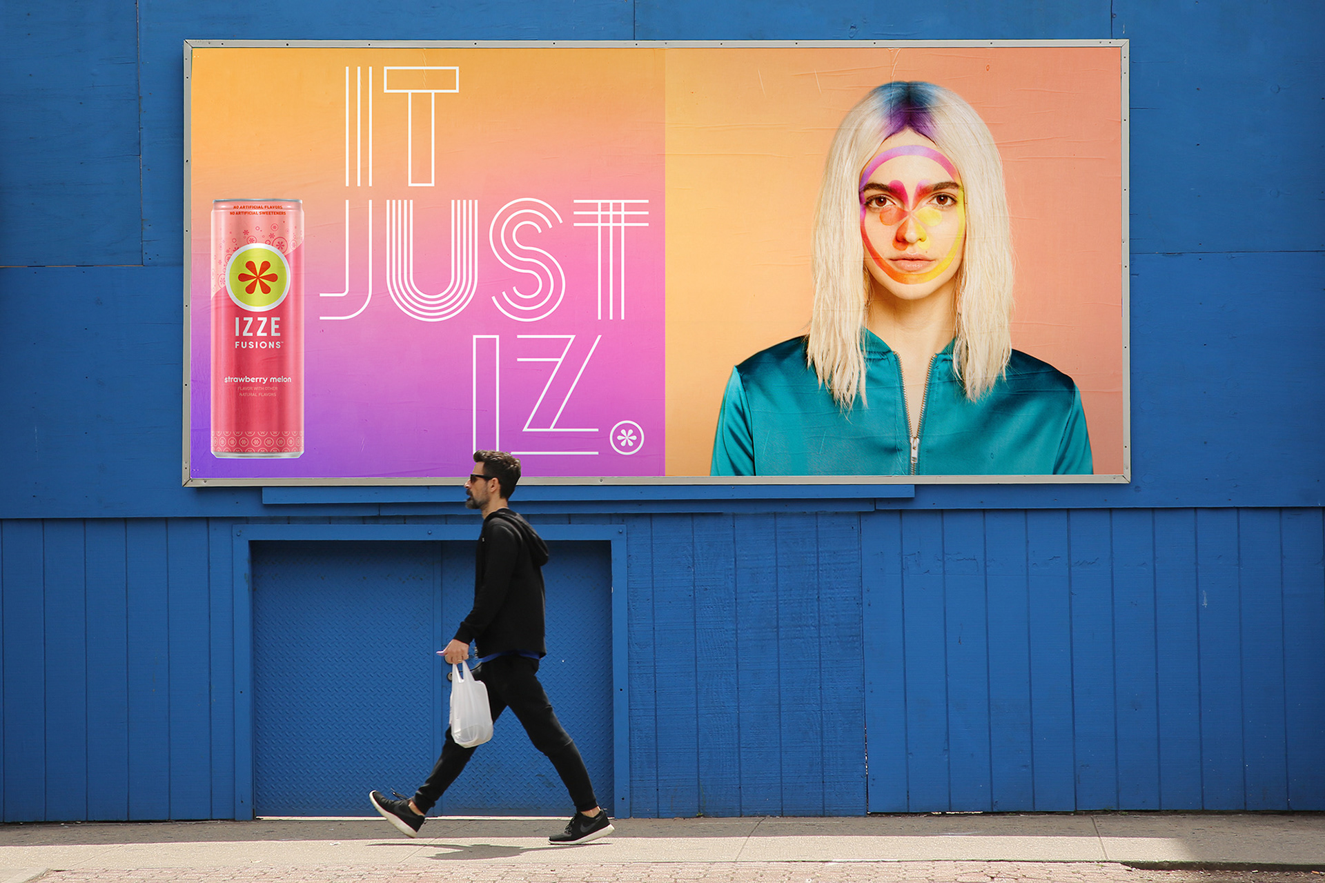 Celebrating Diversity and Fluidity for IZZE Sparkling Juice Campaign