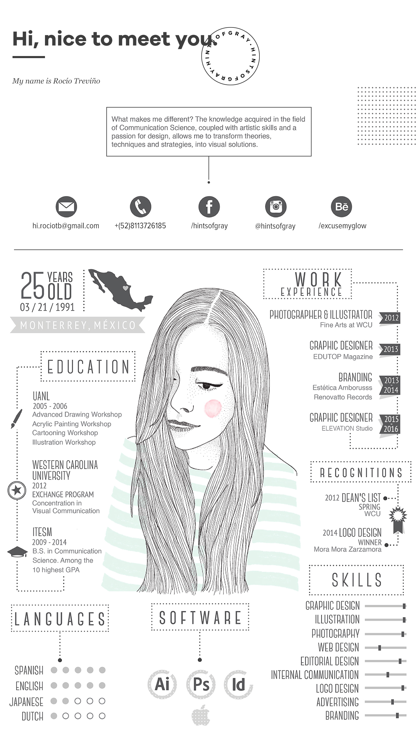 My CV/Resume On Behance  My New Resume