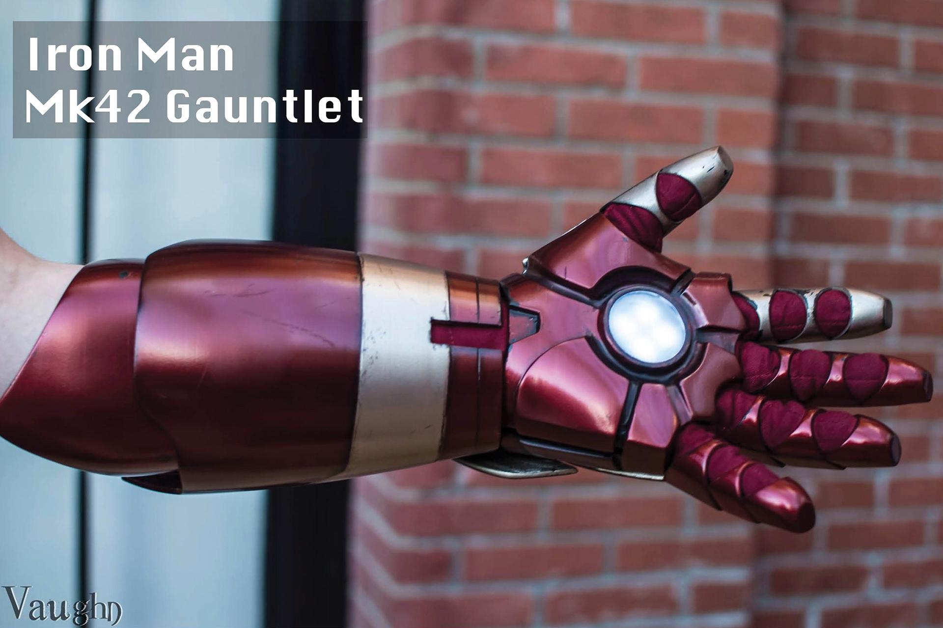 Iron Man Mk42 Gauntlet on Behance