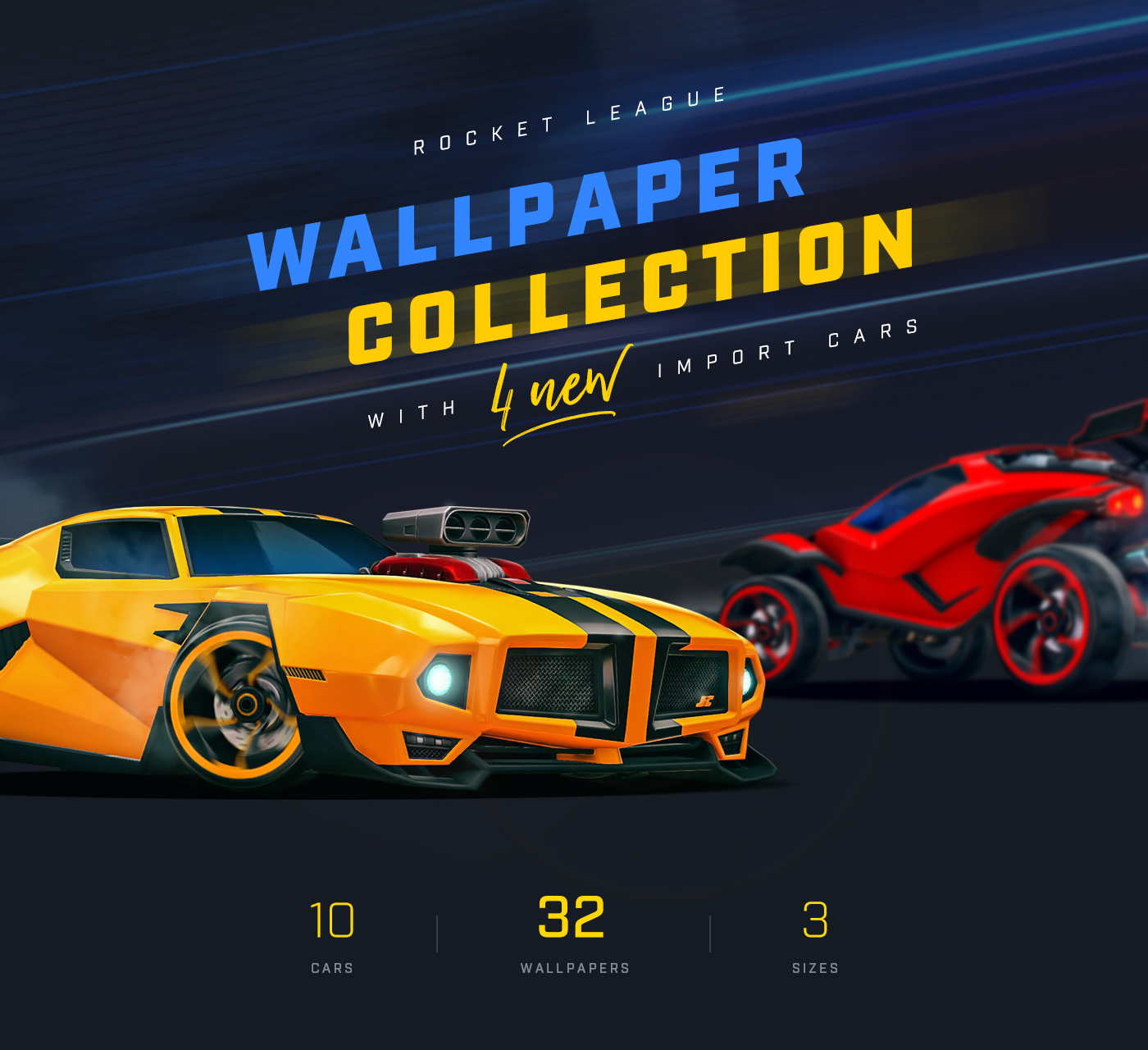 Rocket League Wallpaper Collection On Behance