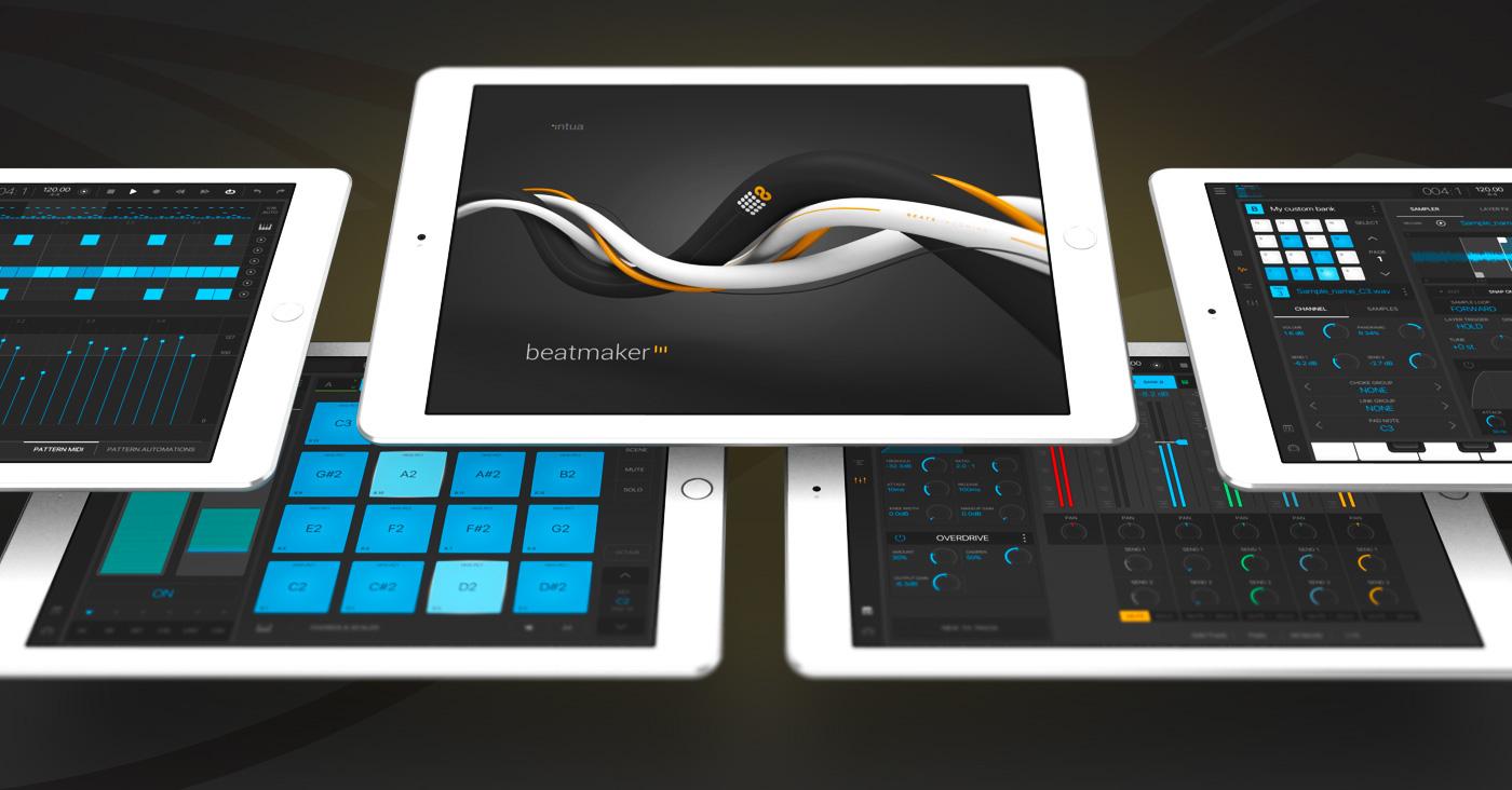 Beatmaker 3 App - Music production redefined on Behance