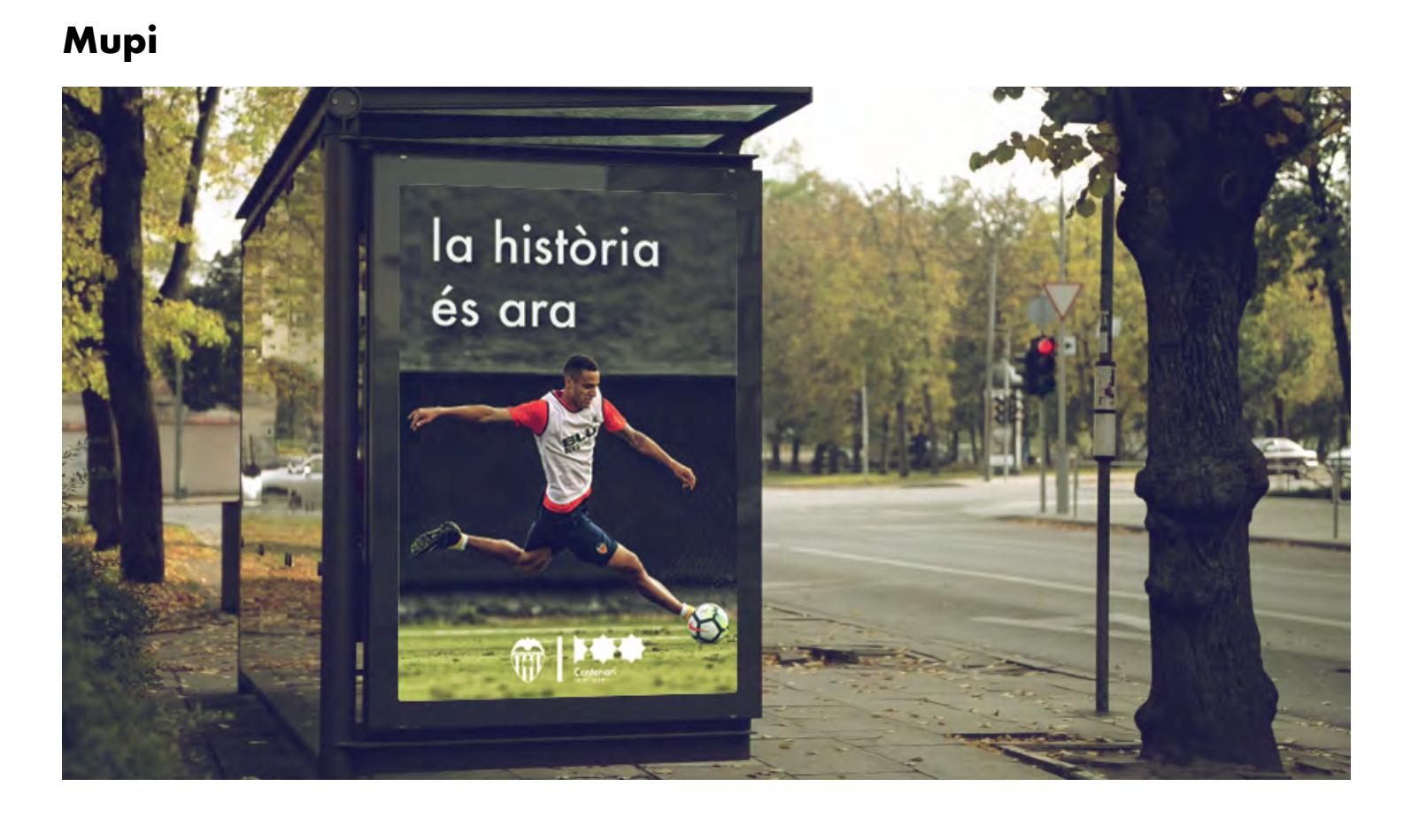 Propuesta mupi, centenario València club de futbol, Centenari VCF
