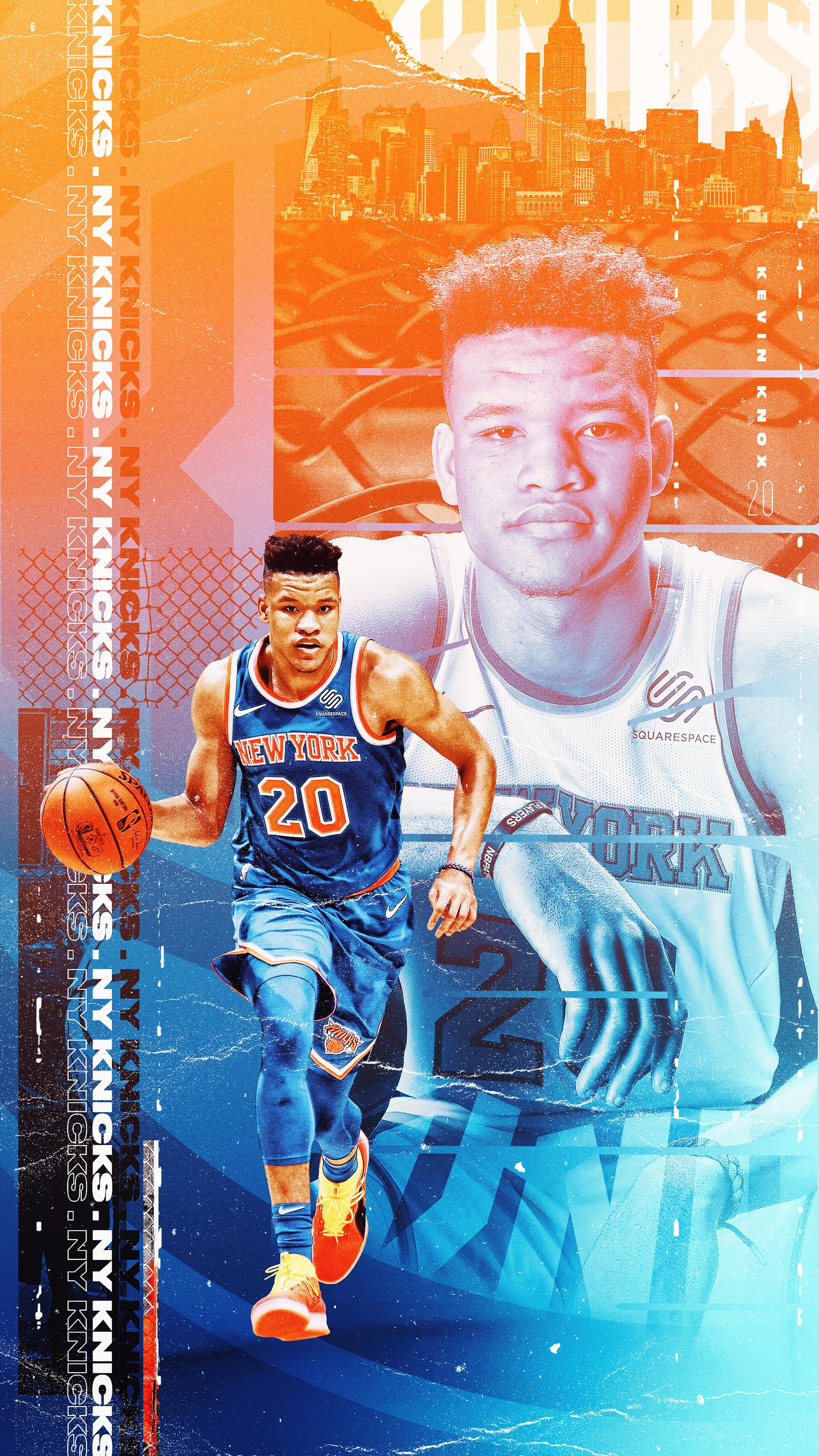 Wallpaperwednesday New York Knicks On Behance