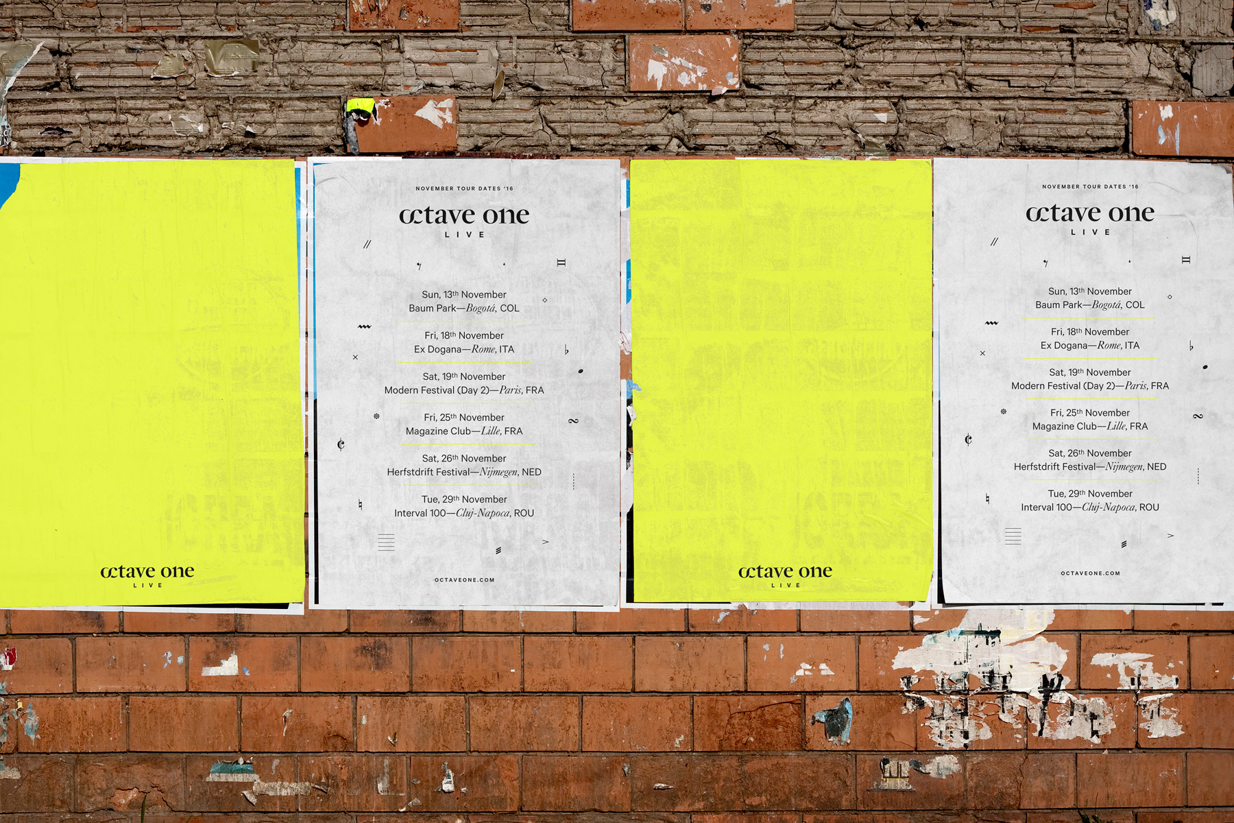 Octave One on Behance