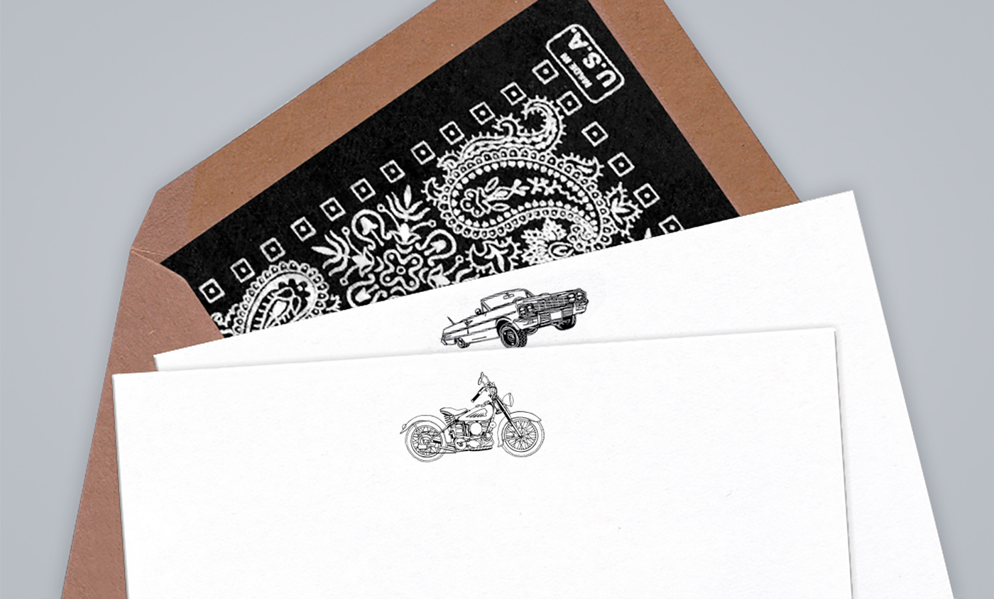 art direction terrapin stationers engraved stationery on behance